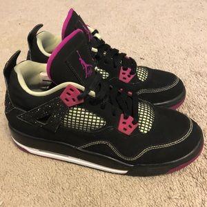 Air Jordan 4 IV Retro 30th Pink 5.5Y Women's 7